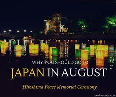 Peace Memorial Ceremony in Hiroshima - Nerd Nomads