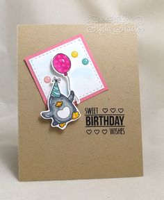 Your Next Stamp Challenge - Birthday Wishes