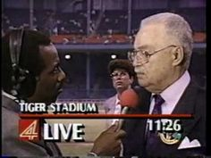 WDIV Detroit: June 28, 1990: Mandela at Tiger Stadium #2