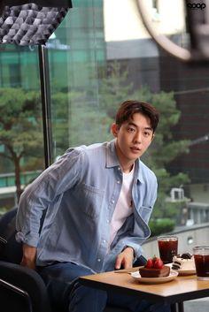 Nam Joo Hyuk Smile, Nam Joo Hyuk Cute, Weightlifting Fairy Kim Bok Joo Wallpapers, Nam Joo Hyuk Wallpaper, Jong Hyuk, Bride Of The Water God, Korean Tv Shows, Nam Joohyuk, Fantasy Couples