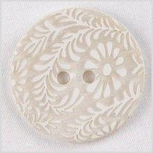 34L/21.5mm White Natural Shell