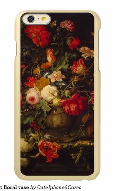 Vintage elegant floral vase incipio feather® shine iPhone 6 plus case   design ready be purchased or customized. by @CutephoneCases http://www.zazzle.com/cuteiphone6cases* See more Floral  iPhone 6 / 6s Plus Case http://www.zazzle.com/cuteiphone6cases/floral?ps=120&dp=252519169581922263&rf=238478323816001889&pg=2&ps=100