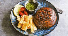 Dijon Portobello Steaks