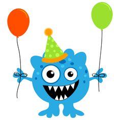 Hoy es mi cumpleaños bestias! Monster First Birthday, Monster 1st Birthdays, Monster Birthday Parties, Baby Birthday, Cartoon Monsters, Cute Monsters, Little Monsters, Monster Clipart, Little Monster Party