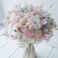 Lovely and delicate bouquet pastel flowers arrangement ll - .- Lovely and delicate bouquet pastel flowers arrangement ll – Blumen – Lovely and delicate bouquet pastel flowers arrangement ll – Blumen – - Bouquet Pastel, Pastel Flowers, Pastel Floral, Bridal Flowers, Dried Flowers, Beautiful Flowers, Pastel Pink, Bouquet Flowers, Pink Grey