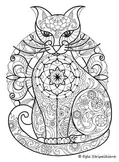 Coloring book for adults COLORS OF CALM by Egle Stripeikiene. Publisher: http://www.almalittera.lt