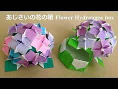 折り紙origami fan~花の箱の折り方~How to fold Flower box【親子で遊べる折り紙】 Box Origami, Origami Bouquet, Origami Box Tutorial, Origami And Kirigami, Origami Flowers, Origami Paper, Paper Flowers, Origami Diagrams, Origami Videos