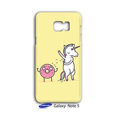 Unicorn Donut Friends Sweet Sugar Samsung Galaxy Note 5 Case Cover Wrap Around
