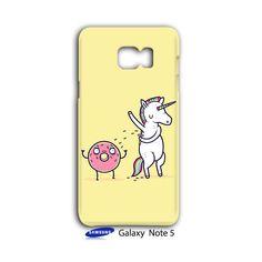 Unicorn Donut Friends Sweet Sugar Samsung Galaxy Note 5 Case Cover Wrap Around