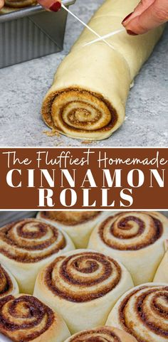 Homemade Cinnamon Rolls: Ready in 1 Hour These quick yeast cinnamon rolls are ready in 1 hour and are soft and fluffy, with gooey centers! They're frosted with a cream cheese icing that is to die for Simple Muffin Recipe, Healthy Muffin Recipes, Donut Recipes, Baking Recipes, Dessert Recipes, Cake Recipes, Smoothie Recipes, The Best, Yummy Food