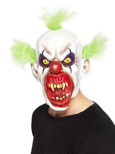Masque Halloween Masque de Clown sinistre