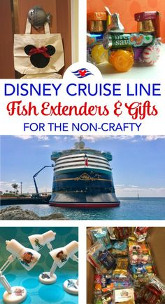 Easy Disney Cruise Line Fish Extender Gifts for the Non-Crafty