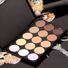 Amazing Professional Eyeshadow Camouflage Concealer Makeup Cream PALETTE15 Color | eBay