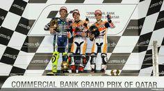 Qatar podium motogp 2014
