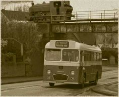Preserved PMT bus meets ghost of a Florence Colliery Bagnall saddletank. (Please see previous posting) Old Pictures, Old Photos, Bus Coach, Stoke On Trent, Local History, Florence, Past, Tours, Explore