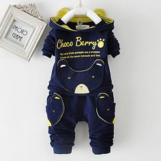Blue Newborn To Toddler Boys Print All-In-One Set. Only at www.pandadeals.co.uk