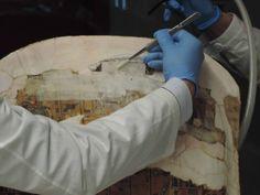 Secondo importante ritrovamento all'interno di uno dei sarcofagi egizi della XXI dinastia oggetto di restauro. Grazie al Prof. Auricchio.