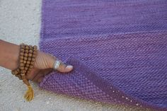Feel the difference. Smell the difference. Let the handwoven cotton massage your hands and feet like acupressure and help ground you to the earth.