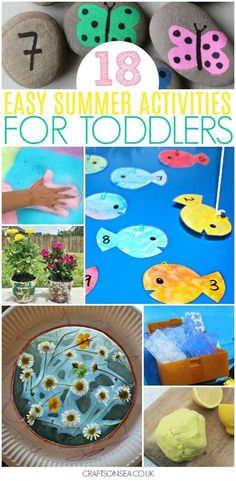 summer activities for toddlers easy #kidsactivities #toddler #preschool #summer