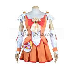 Pretty Cure Smile PreCure Hino Akane(Cure Sunny) Cosplay Costume