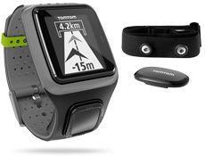 TomTom Runner GPS Watch (Dark Grey) + Heart Rate Monitor
