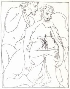 29—31. Иллюстрации к поэме овидия «Метаморфозы». 1930. Офорты. 22,3×17