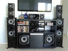 sony muteki home video Hifi Stereo, Hifi Audio, Audio System, Home Theater, Entertainment Center, Tvs, Gadgets, House Ideas, Music