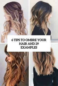 6 tips to ombre your hair and 29 examples