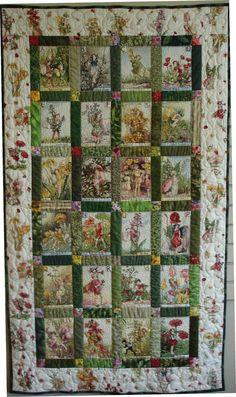 Carola's Quilt Shop: Alphabet Fairy Panel from Michael Miller