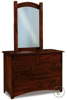 Indulge in the Amish handcrafted Norway Small Dresser for your Contemporary style guest suite or child's bedroom. Create your own from the options below.