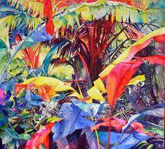 Heleen Cornet. Rainbow forest 2