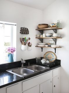 Leela & David's Quirky Cottage Kitchen
