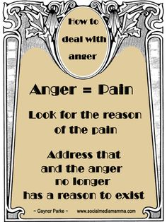 Inspirational quotes How to deal with anger www.socialmediamamma.com Inspiring quote