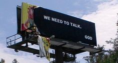 Aftermath of Hurricane Charley reveals message from God on billboard? Hurricane Charley, Hurricane Andrew, Peace That Passes Understanding, Lent 2016, Bad Storms, Sand Lake, Ohhh Yeah, Billboard Signs, Great Power