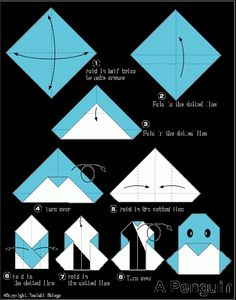 Penguin - Easy Origami For Kids