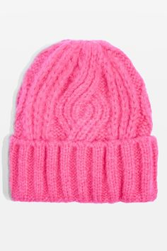 18ed607be28 Topshop Cable knit Beanie Floppy Hats