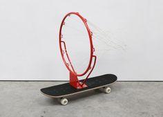Carl Clerkin, Fast Basket, 2013, Gallery S O London, London Design Festival