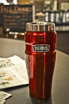 Stand out from the crowd! Ask your barista to fill your Thermos brand bottle or tumbler with your favorite coffee. #ThermosThursday