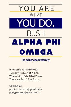 """Alpha Phi Omega spring rush week kicks off tomorrow! Check us out if you love service! From Zeta Delta Chapter - Miami University"" Rush Week, Alpha Phi Omega, Miami University, Greek Life, Theta, Fraternity, Fun Stuff, Kicks, College"