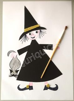 Mauriquices: Carlota Barbosa, a bruxa medrosa! Matilda, Halloween, Playing Cards, Games, Made By Hands, Bruges, How To Make, Gaming, Halloween Stuff