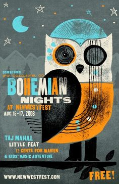 30 Amazing Gig Posters Sure to Inspire.