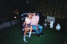 Johnny Ramone & Linda Cummings, in Graceland