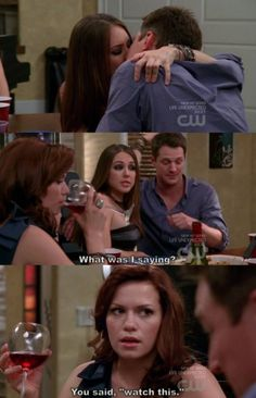 """""""You said, 'watch this.'""""    I loved when Haley said things like this <3"""