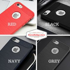BLUSHED METAL TPU CASE ★ $19.50 ★ Anti FingerPint Finish Protect your Phone  ★ https://koreahallyu.myshopify.com/collections/newest-products/products/blushed-metal-tpu-case ★ Hot Sale Now ★ iPhone 5/5s iPhone 6/6s iPhone 6 + iPhone 7 iPhone 7 + Galaxy S7 Galaxy S7 Edge ★ Red Balck Navy Grey