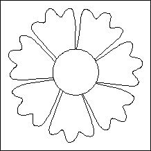 Block of Day for February 21, 2014 - Poppy--stencil