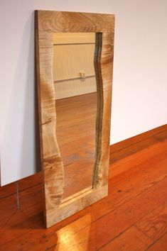 Live edge wood! Sexy!  Spalted Maple Live Edge Mirror by smithandvallee on Etsy, $325.00