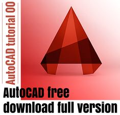 Interested in AutoCAD tutorial? Here is a series of AutoCAD basic tutorials to help you master the basics in only 21 DAYS. Autocad Software Free Download, Free Cad Software, Cnc Software, Autocad 2015, Autocad Free, Learn Autocad, Life Hacks Computer, Solidworks Tutorial, Case Study Design
