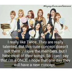What do you think of this? Agree or Disagree?  You can send your own confession by DM  Confessions are not from me #kpop #kpopconfession #kpopconfessions #twice #nayeon #momo #sana #jihyo #mina #dahyun #chaeyoung #tzuyu #jungyeon