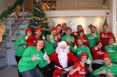 Happy holidays from your friends at TechWyse. We were so good this year... Santa stopped by our office early!