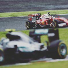 Mercedes-Ferrari  #JapaneseGP #F1